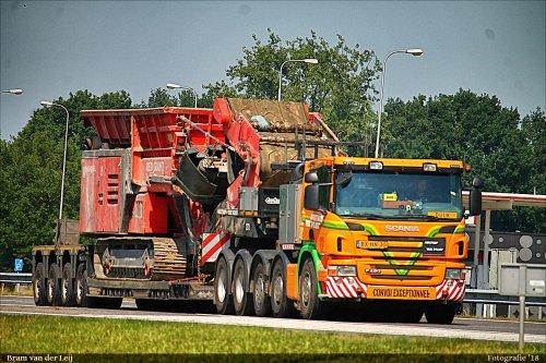 Scania P420, foto van Bram van der Leij