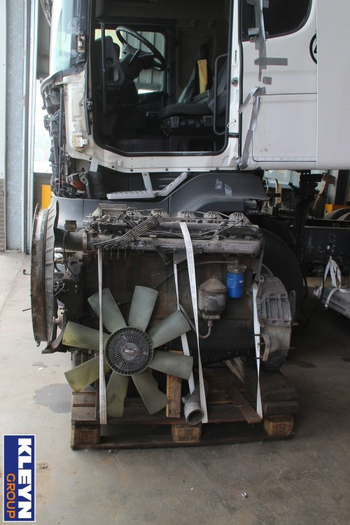 Scania motor, foto van Katy Kleyn