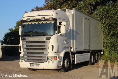 Scania R420 (vrachtwagen), foto van Alex Miedema