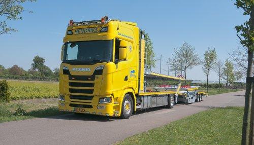 Scania S580, foto van Alex Miedema