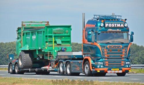 Scania Vrachtwagen, foto van bernard-dijkhuizen