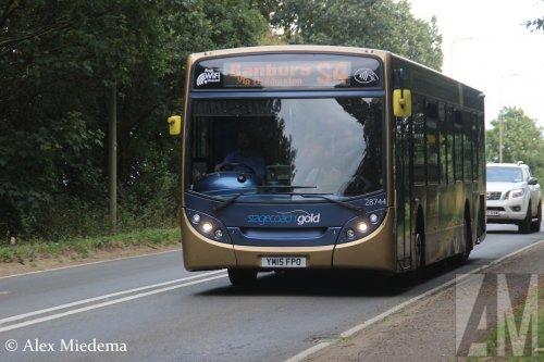 Scania K-serie (bus), foto van Alex Miedema