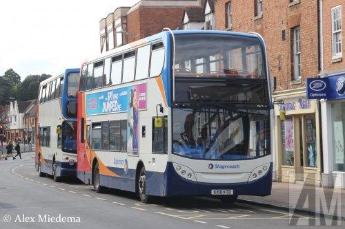 Scania N-serie (bus), foto van Alex Miedema