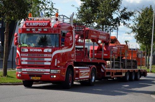 Scania 114, foto van Lucas Ensing