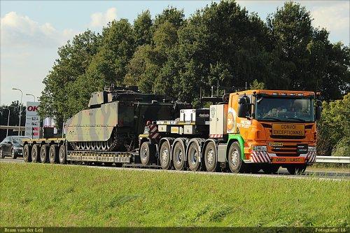Scania P450, foto van Bram van der Leij
