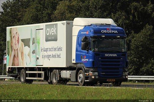 Scania R420, foto van Bram van der Leij
