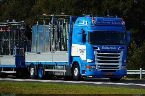 Scania R410, foto van Bram van der Leij