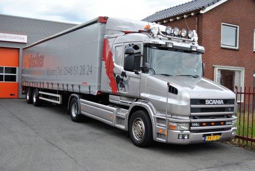 Scania T114, foto van Lucas Ensing