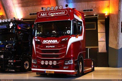 Scania S650, foto van Bram van der Leij