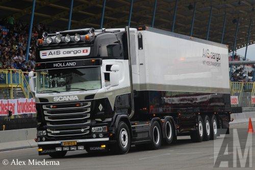 Scania R580, foto van Alex Miedema