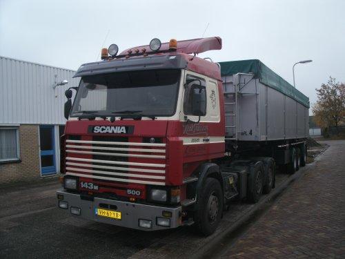 Scania 143, foto van gekke drent