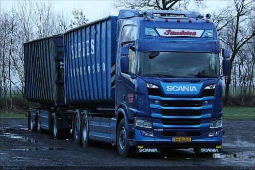 Scania R450, foto van Bram van der Leij