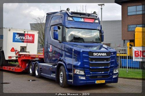 Scania T-serie, foto van Hans Kramer