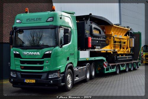 Scania R650, foto van Hans Kramer