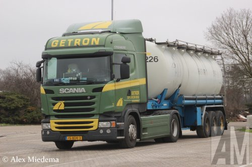 Scania R410, foto van Alex Miedema
