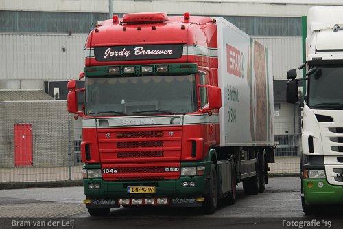 Scania 164, foto van Bram van der Leij
