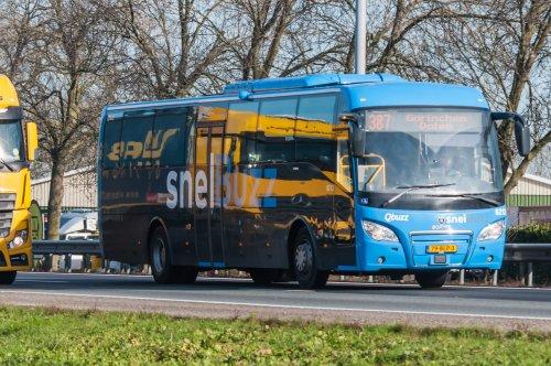 Scania buschassis, foto van xrayjaco