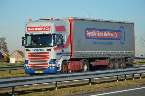Scania R410, foto van NSTF Truck Fotografie