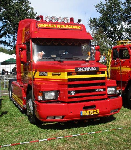 Scania T143, foto van gekke drent