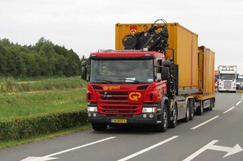 Scania P450, foto van Lucas Ensing
