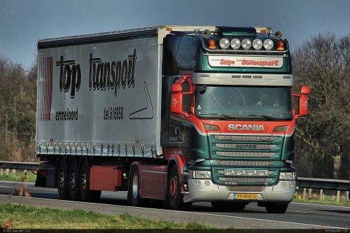 Scania R730, foto van Bram van der Leij