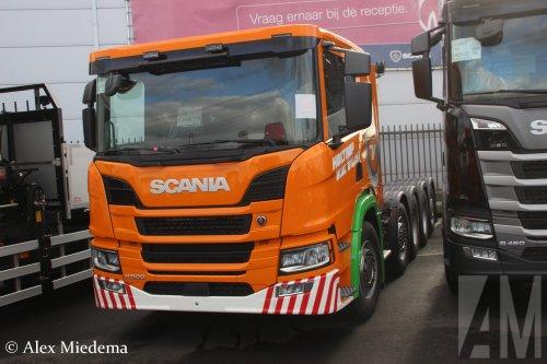 Scania P500 (vrachtwagen), foto van Alex Miedema