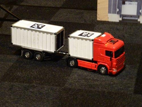 Scania model, foto van dickt