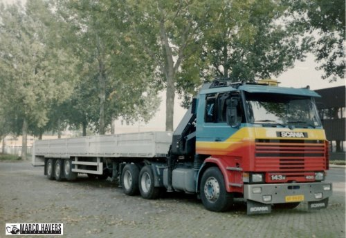 Scania 143, foto van marco-havers