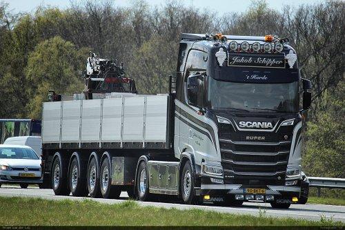 Scania S580, foto van Bram van der Leij