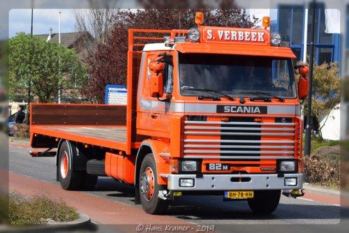 Scania 82, foto van Hans Kramer