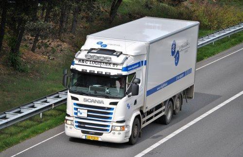 Scania G360, foto van Lucas Ensing