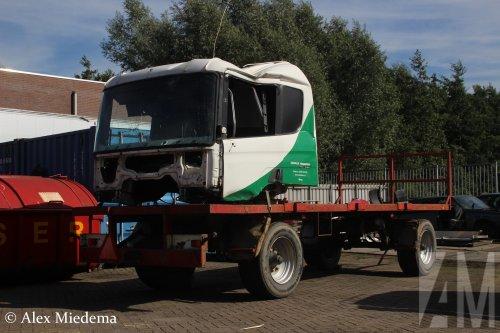 Scania cabine, foto van Alex Miedema