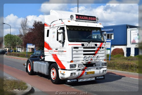 Scania 143 Streamline, foto van Hans Kramer