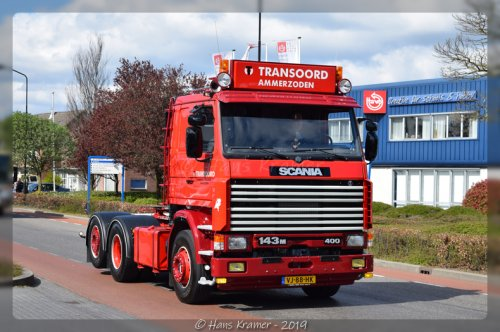 Scania 143, foto van Hans Kramer