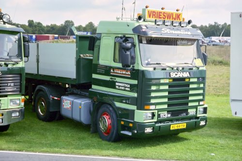 Scania 113 Streamline, foto van Lucas Ensing