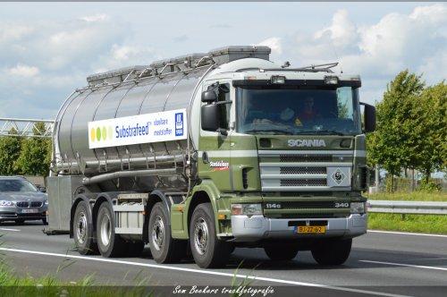 Scania 114, foto van sem-beekers