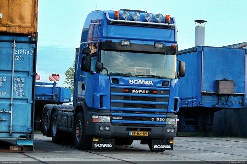 Scania 144, foto van Bram van der Leij