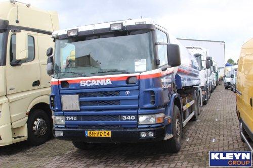 Scania 114, foto van Katy Kleyn