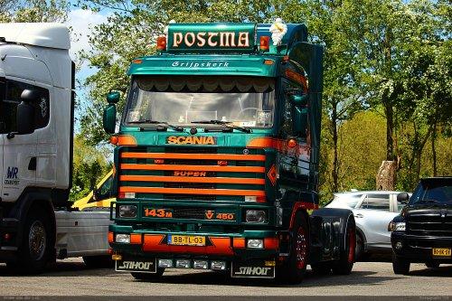 Scania 143, foto van Bram van der Leij