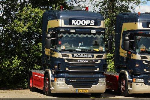 Scania R440, foto van Bram van der Leij
