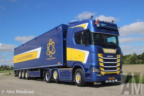 Scania S450, foto van Alex Miedema