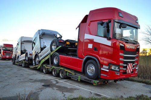 Scania P410, foto van Lucas Ensing