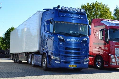 Scania S580, foto van coen-ensing