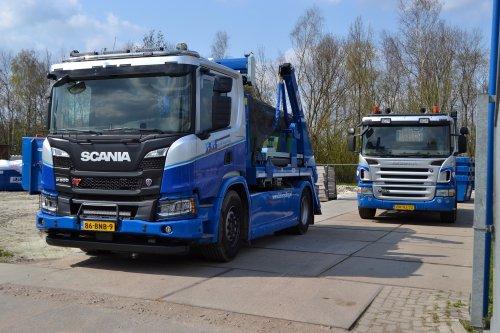 Scania P500 XT, foto van Lucas Ensing