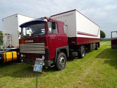 Scania 111, foto van dickt