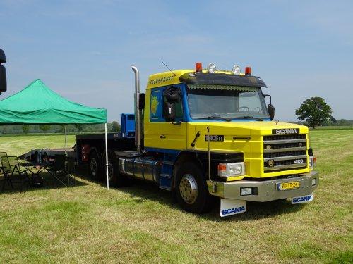 Scania T143 (vrachtwagen), foto van dickt
