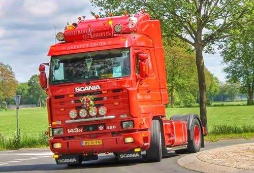 Scania 143, foto van geerthuisman
