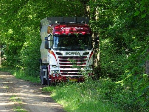 Scania R580, foto van dickt