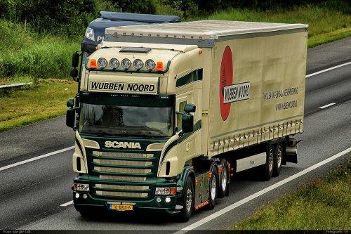 Scania R580, foto van Bram van der Leij