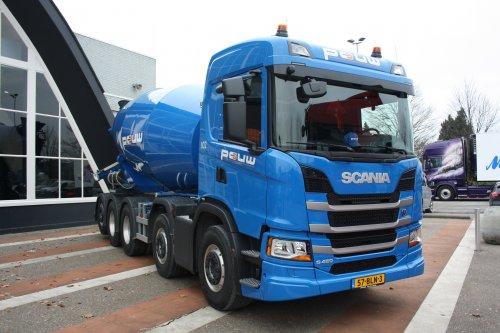 Scania G450, foto van gekke drent